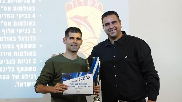 קבוצה כדורגל באולמות העשור - דולפיני אשדוד